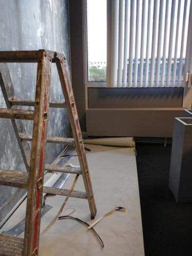 Verbouwing kantoor