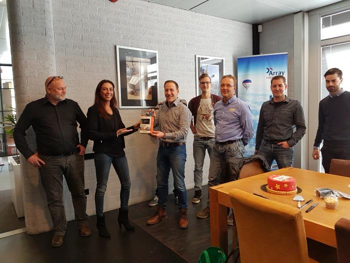 Prijsuitreiking Action Cam bij Array Industries