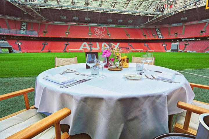 Wedstrijd Ajax - Utrecht bijwonen in een Business Seat?